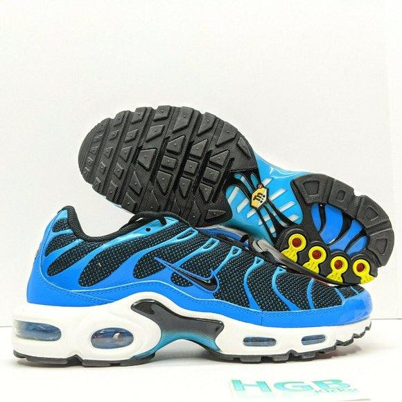 Nike Shoes Air Max Plus Mens Running Training Gym Blue Poshmark